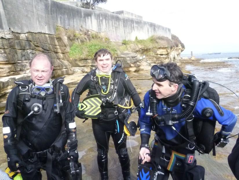Paul, Duncan and Ben