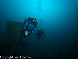 A photo from SS Myola. Southern Cross Divers