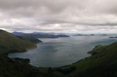 Guards Bay and the view north to the Tasman Sea.